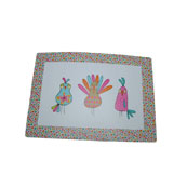 Ditzy Birds Feeding Mat