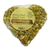 Woodlands Honey Heart Shape Seed Treat