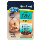 HiLife tempt me! Adult Just Tuna with Prawns in Jelly 85g