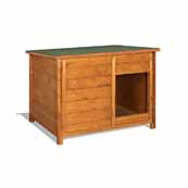 Value Wooden Kennel Small