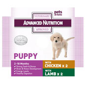 Advanced Nutrition Puppy Food with Chicken 4 x 395g