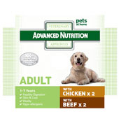 Advanced Nutrition Adult Dog Food with Chicken 4 x 395g