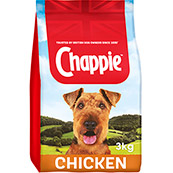 Chappie Dry with Chicken and Whole Grain Cereal 3kg