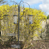 Wild Bird Feeding Station with Feeders
