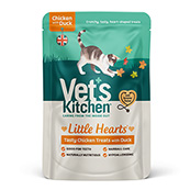 Vet's Kitchen Little Hearts Crunchy Chicken and Duck 60g (Online Only)