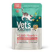 Vet's Kitchen Little Hearts Finest Salmon and Trout 60g (Online Only)