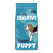 Burgess Sensitive Pup Turkey and Rice 2kg
