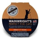 Wainwright's Adult Cat Turkey With Vegetable Pate 90g