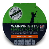 Wainwright's Adult Cat Lamb With Vegetable Pate 90g
