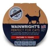 Wainwright's Senior Cat Turkey With Vegetable Pate 90g