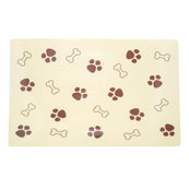Paw Print and Bone Placemat