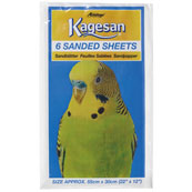 Sanded Bird Cage Sheets 22x12in 6 Pack