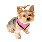 Pink Mesh Comfort Harness Large by Pets at Home