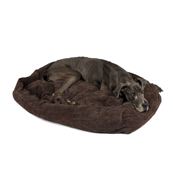 Jumbo Cord Extra, Extra, Extra Large Brown Dog Bed by Pets at Home