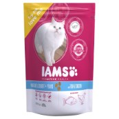 Iams Dry Cat Food Senior and Mature with Ocean Fish and Chicken 300g (Online Only)