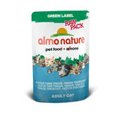 Almo Nature Cat Green Label Raw Pack Tongol Tuna Fillet 55g