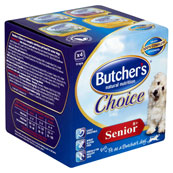 Butchers Senior Trays 4 x 150g