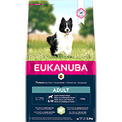 Eukanuba Adult Small and Medium Breed Rich in Lamb and Rice 2.5kg