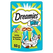 Dreamies Salmon and Tuna 60g