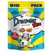 Dreamies Salmon and Cheese 110g