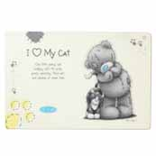 Me to You Cat Feeding Mat