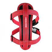 EZYDOG Red Chest Plate Dog Harness X Small
