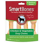 SmartBone Vegetable and Chicken Medium Chews 4 Pack