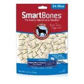 SmartBone Vegetable and Chicken Dental Mini Chews 24 Pack
