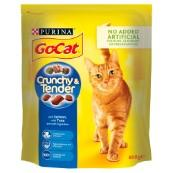 Go Cat Crunchy and Tender Salmon and Tuna 800g