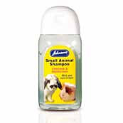 Johnsons Small Animal Deodorising Shampoo