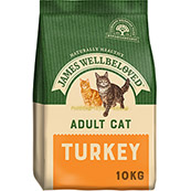 James Wellbeloved Complete Adult Cat Food with Turkey