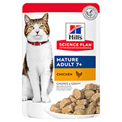 Hills Science Plan Feline Mature Adult Chicken 85g Pouch