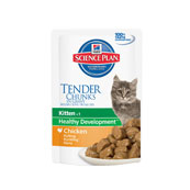 Hills Science Plan Feline Kitten Chicken 85g Pouch (Online Only)