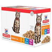 Hill's Science Plan Feline Adult Taste Selection Multi Pack 12x85g Pouches