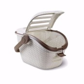 Cream Rattan Cat Carrier  (Online Only)