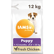 Iams ProActive Health Puppy/Junior Small/Medium Breed 12kg (Online Only)
