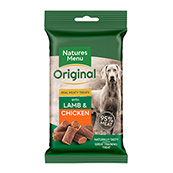 Nature's Menu Lamb and Chicken Dog Treats 60gm