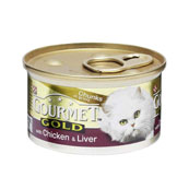 Gourmet Gold Chicken and Liver 85g
