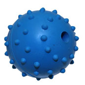 Studded Ball and Bell Dog Toy