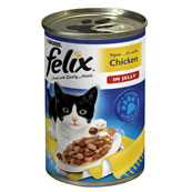 Felix with Chicken in Jelly Cat Food 400g (Online Only)