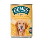 Denes Light Adult Dog Food with Chicken and Liver plus added Herbs 400g