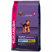 Eukanuba Large Breed Complete Puppy Food with Chicken