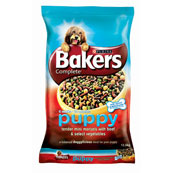 Bakers Complete Puppy Food with Beef & Vegetables