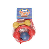 Triple Pack of Rubber Toys for Dogs