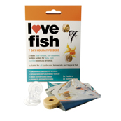 Love Fish 7 day Holiday Feeder