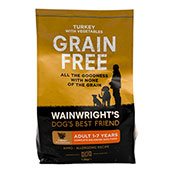 Wainwright's Grain Free Turkey and Vegetables 1.5kg