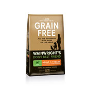 Wainwright's Grain Free Lamb and Vegetables 10kg