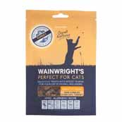 Wainwright's Cat Hearts Turkey Treats 60g