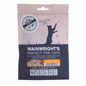 Wainwright's Cat Hearts Duck Treats 60g