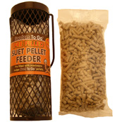 Filled Suet Pellet Feeder